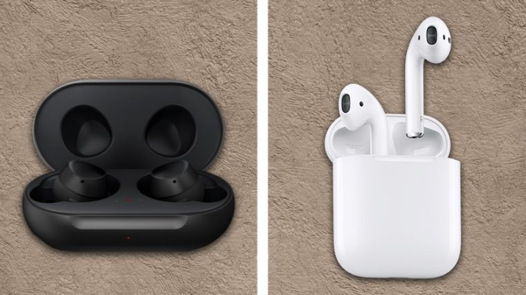 Чем отличаются Samsung Galaxy Buds от Apple AirPods