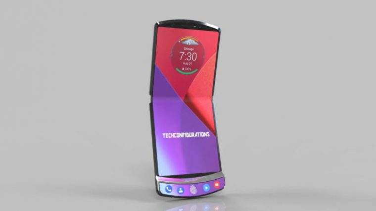 Раскрыты характеристики складного смартфона Motorola RAZR