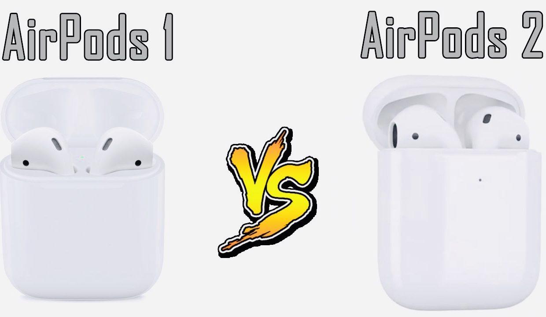 Чем отличаются AirPods 2 поколения от старых AirPods
