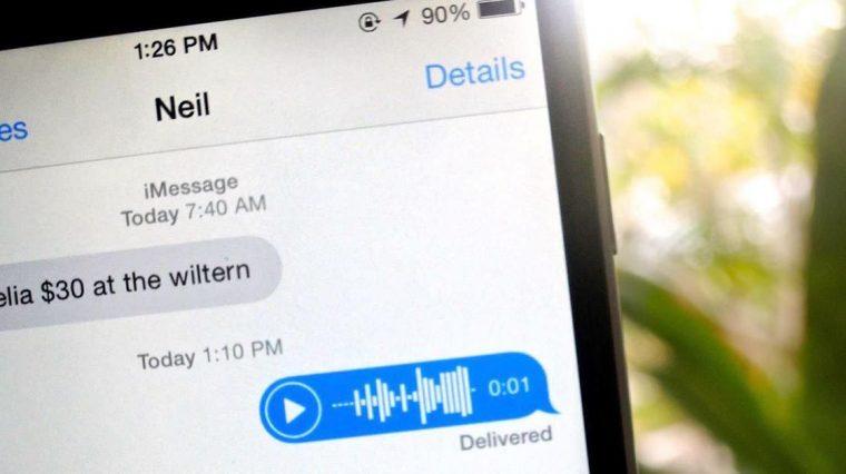 В iOS 12.2 улучшили качество аудиосообщений iMessage