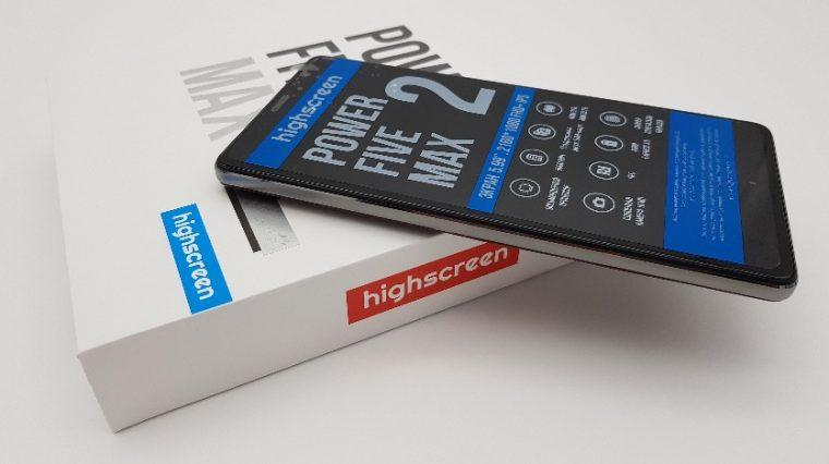 Первые впечатления от Highscreen Power Five MAX 2 с гигантским аккумулятором