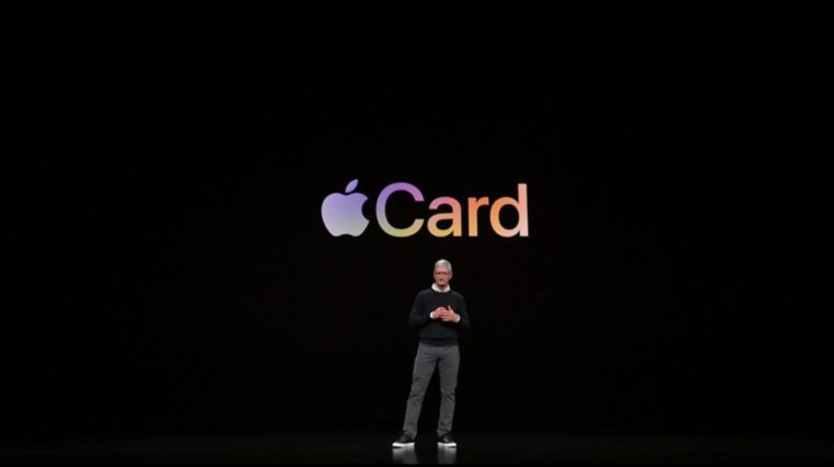Анонсирована банковская карта Apple Card