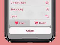 Где искать понравившиеся треки в Apple Music