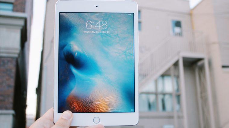 Фотография чехла iPad mini 5. Планшет почти не изменится