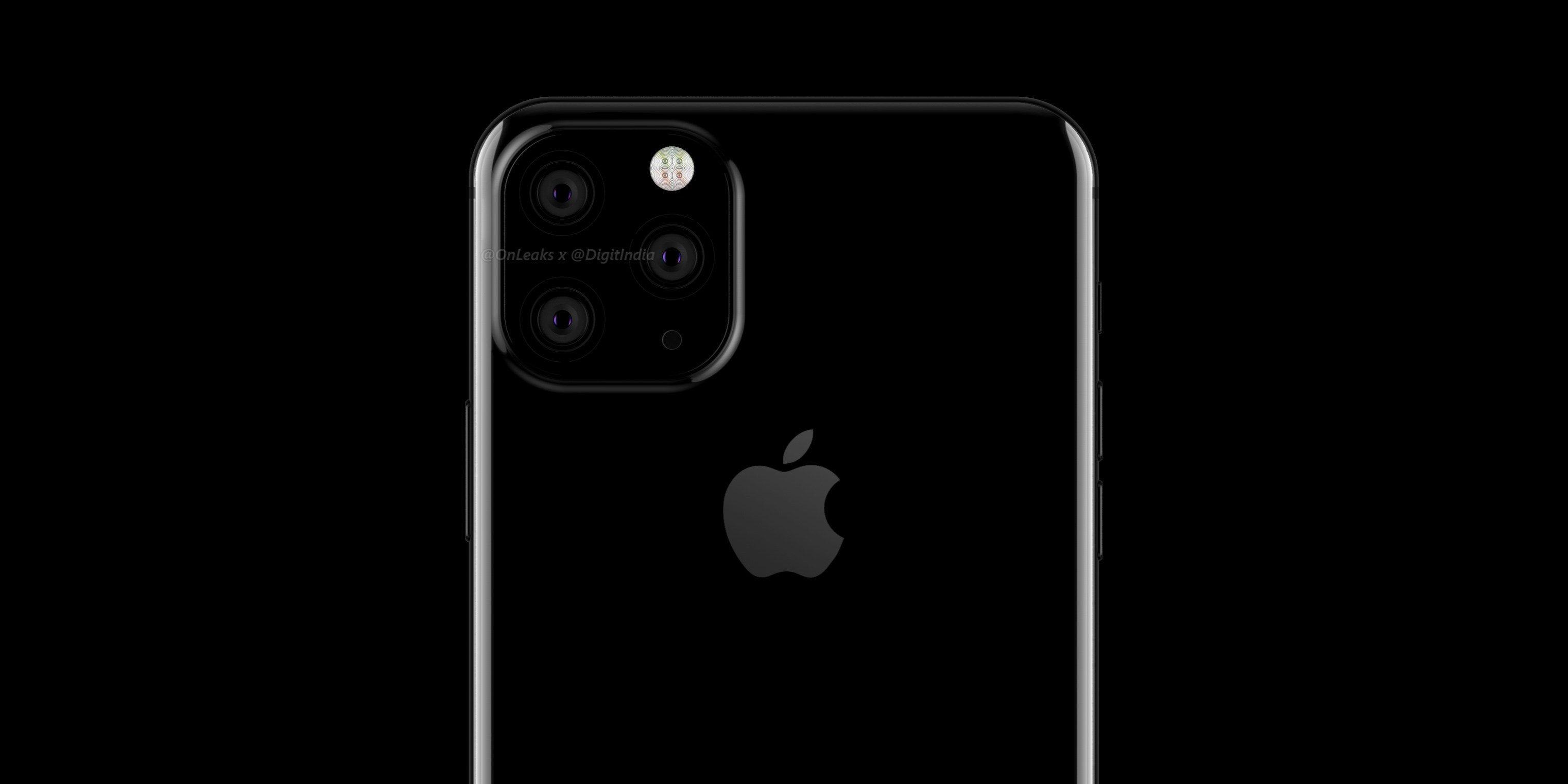 В новых iPhone обещают некрасивую тройную камеру