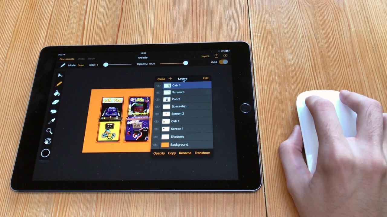 В iPad Pro появится поддержка мышки