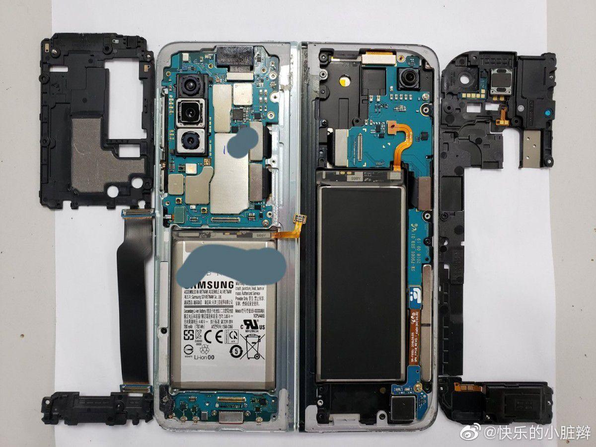 Что внутри Samsung Galaxy Fold