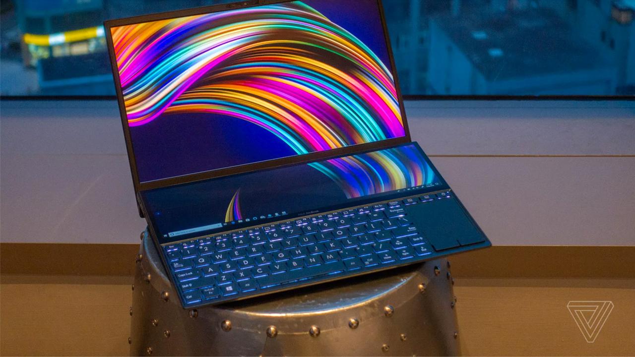 ASUS сошла с ума и сделала ноутбук с огроменным Touch Bar