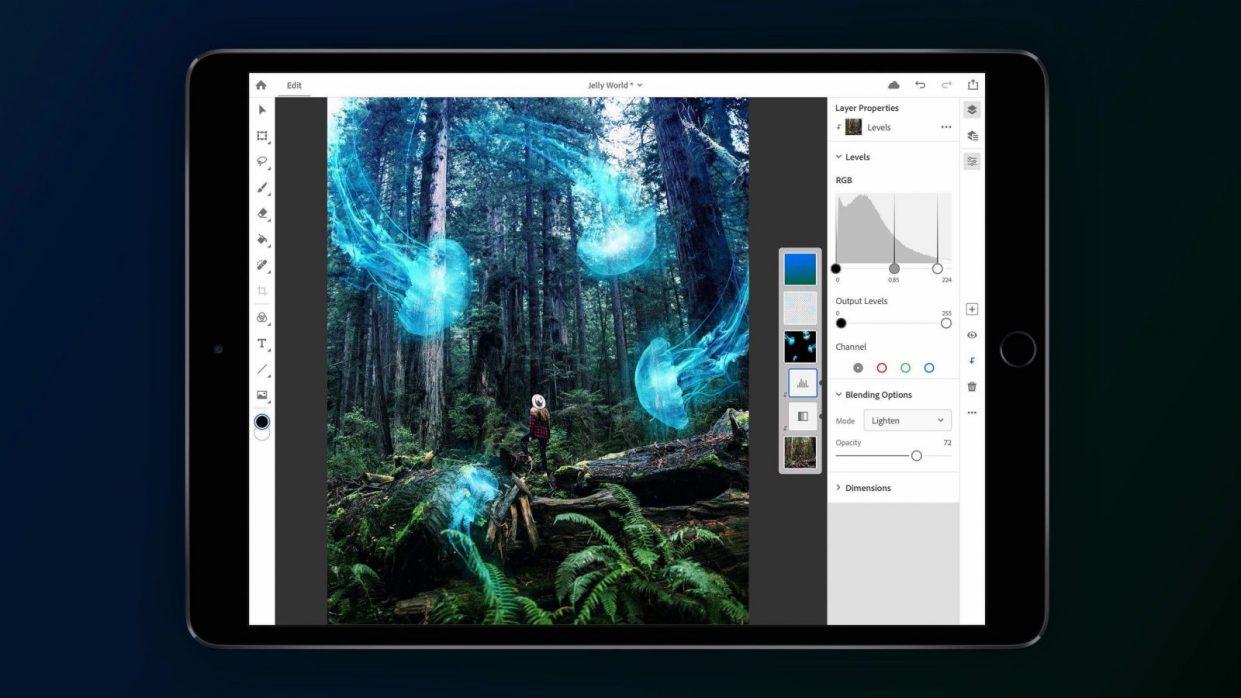 Как получить настоящий Photoshop для iPad бесплатно