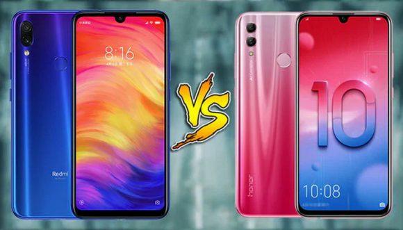 Что лучше купить: Xiaomi Redmi Note 7 или Honor 10 Lite
