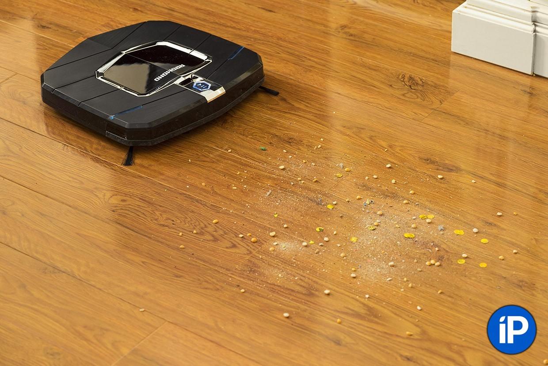 Робот-пылесос REDMOND приехал в студию. Результаты удивили
