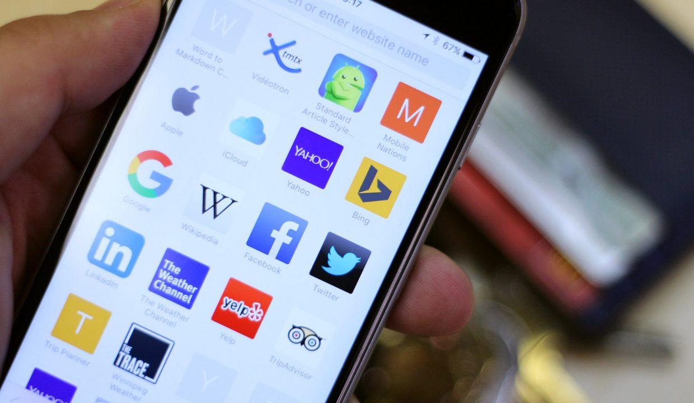 В iOS 13 появился ползунок для быстрой прокрутки любых страниц