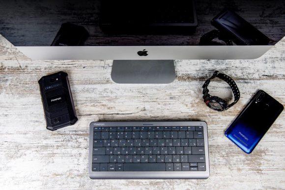 Представлена первая в мире клавиатура-тачпад Clevetura Click&Touch