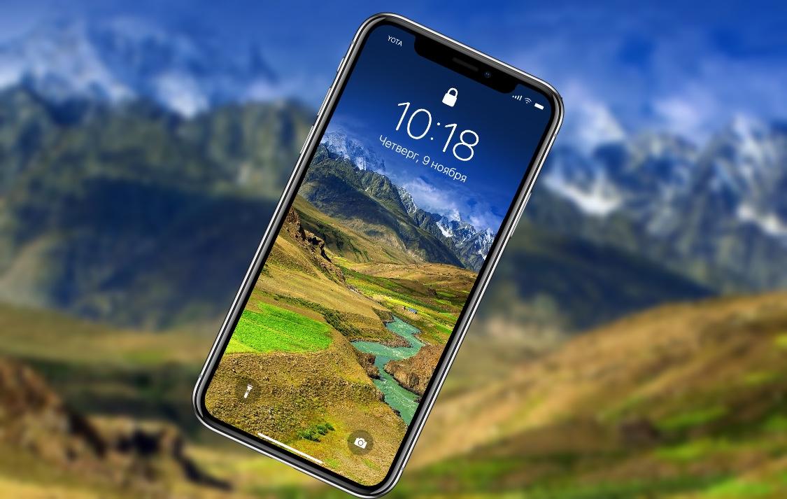 10 вдохновляющих обоев iPhone с горами. Качать сейчас