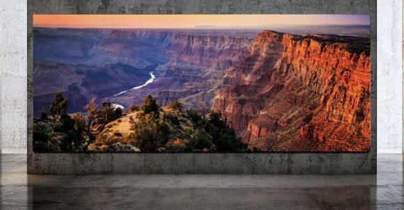 Samsung показала самый большой телевизор в мире. 292 дюйма!