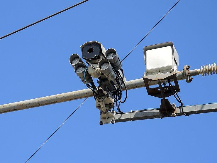 ГИБДД опубликовала карту всех камер на дорогах в России