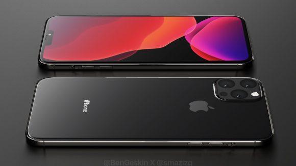 Появились первые рендеры iPhone 12