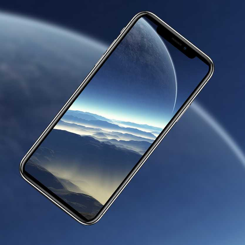 10 изумительных обоев iPhone с космосом