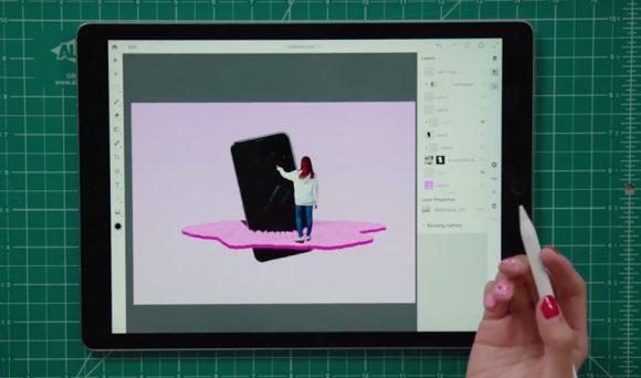 Стартовало закрытое бета-тестирование Photoshop для iPad