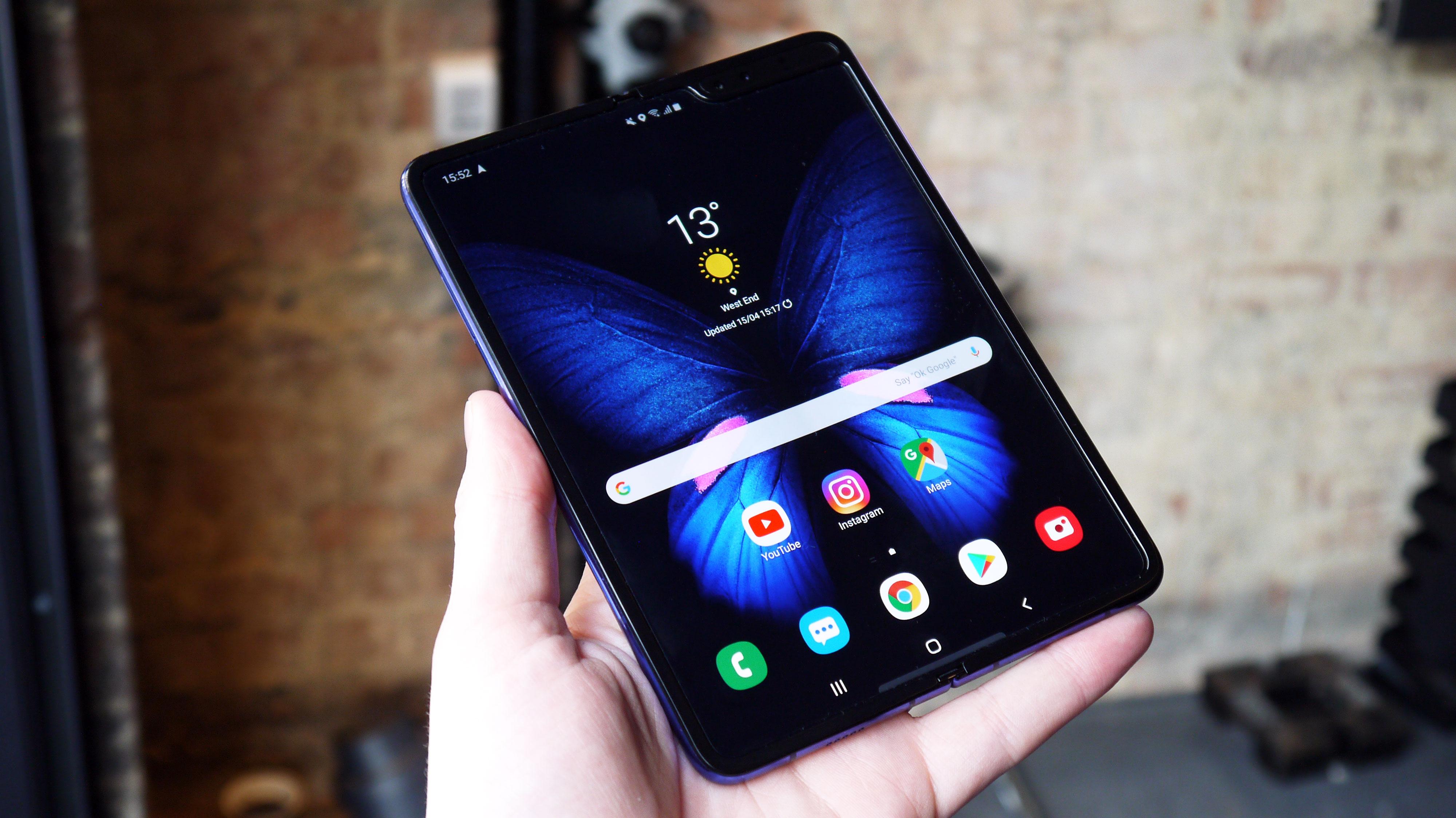 Samsung готовит бюджетную версию Galaxy Fold