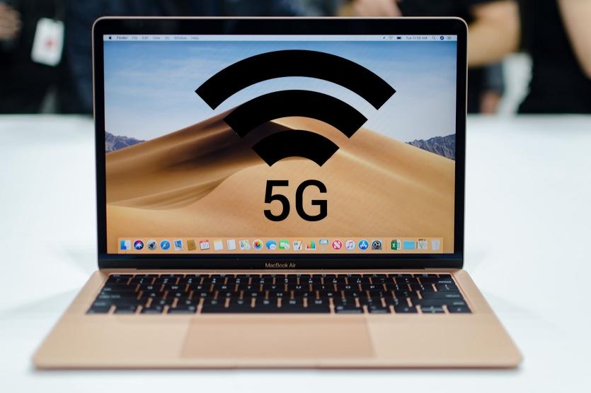 В следующем году выйдет первый MacBook с поддержкой 5G