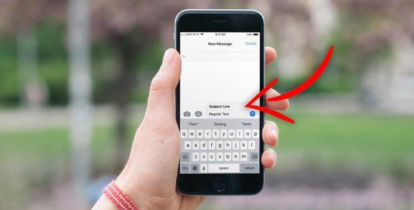 Как включить отображение темы в сообщениях на iPhone