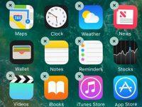 Почему не удаляются приложения на iPhone