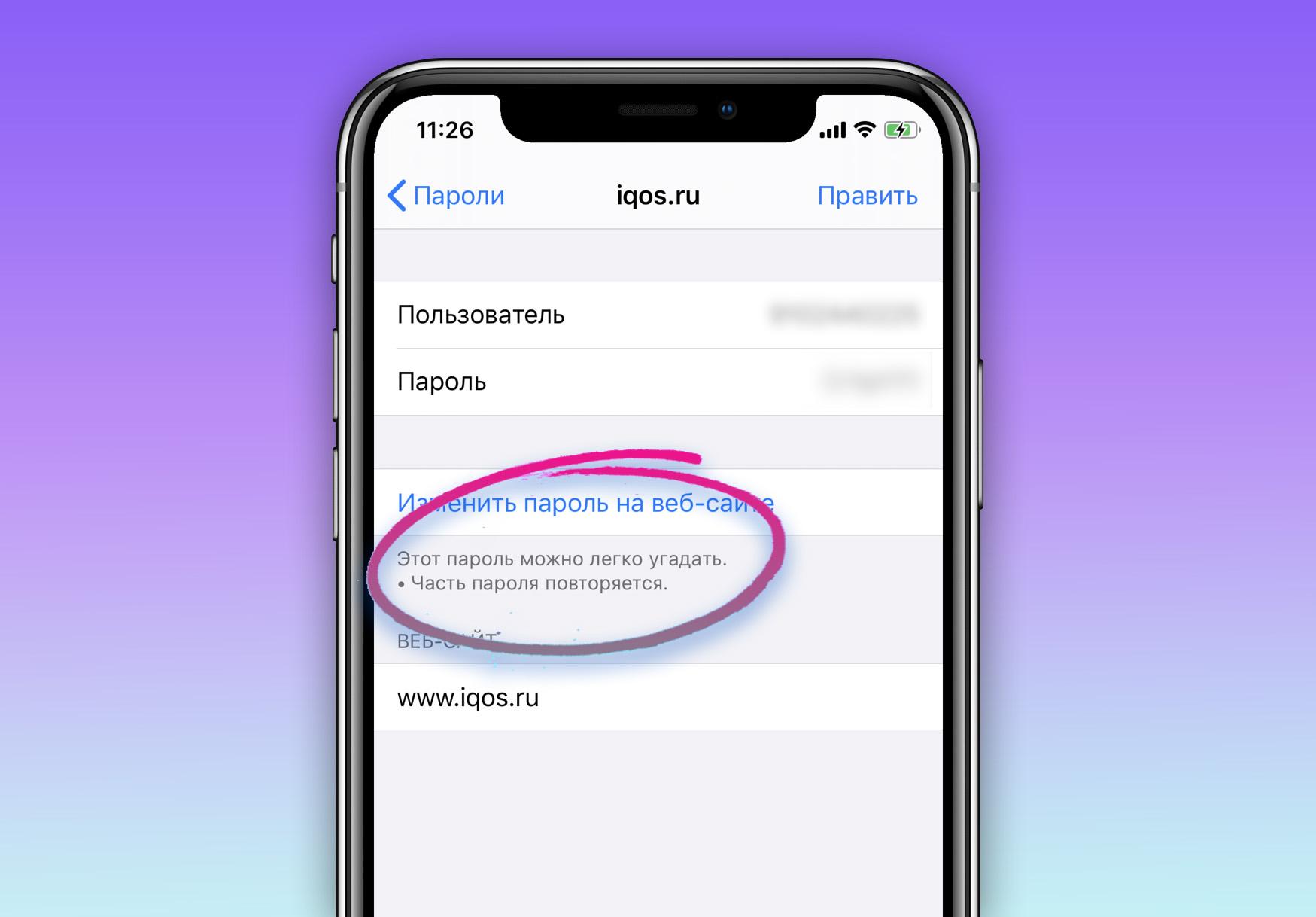 Скрытая функция iPhone поможет найти ваши небезопасные пароли