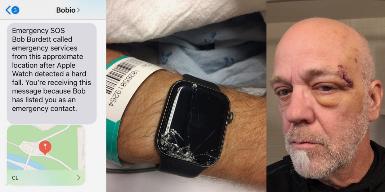 Apple Watch спасли жизнь человеку после падения с велосипеда
