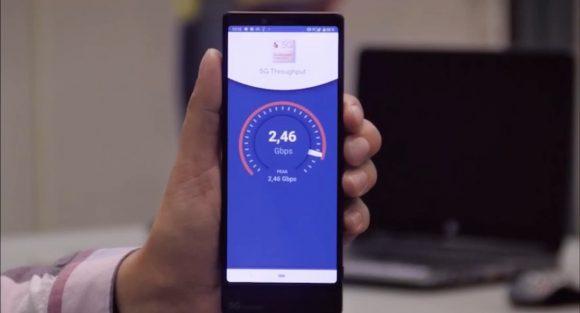 МегаФон установил рекорд скорости 5G в России