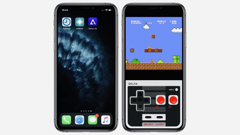 Появился эмулятор Nintendo для iPhone без джейлбрейка