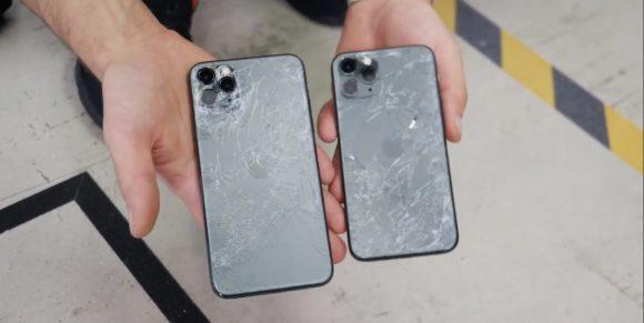 Появился первый дроптест iPhone 11 Pro