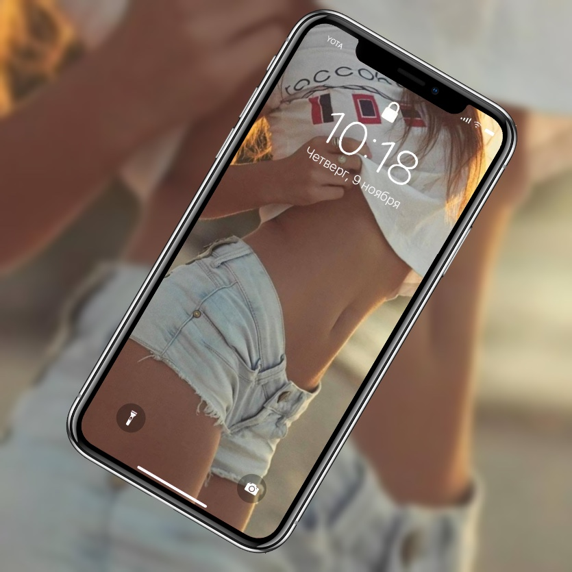 10 красивых обоев с девушками для iPhone