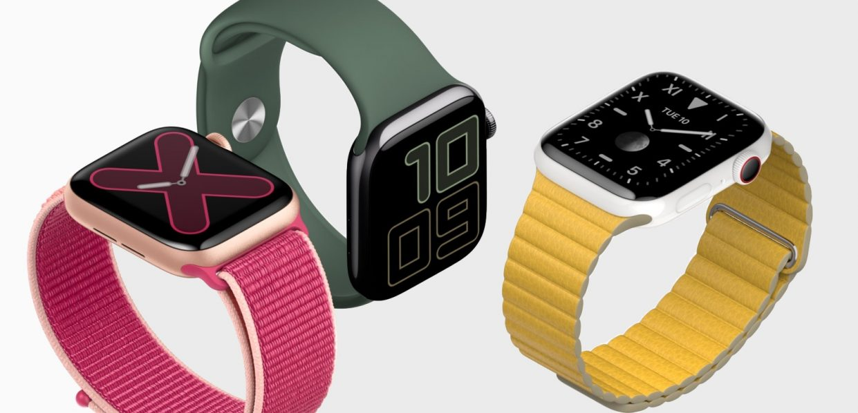 Apple выпустила часы Apple Watch Series 5