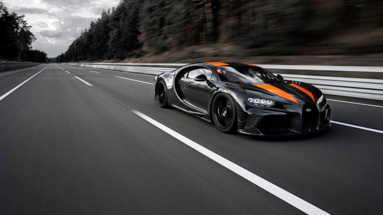 Bugatti Chiron установила рекорд скорости среди серийных автомобилей: 490 км/ч