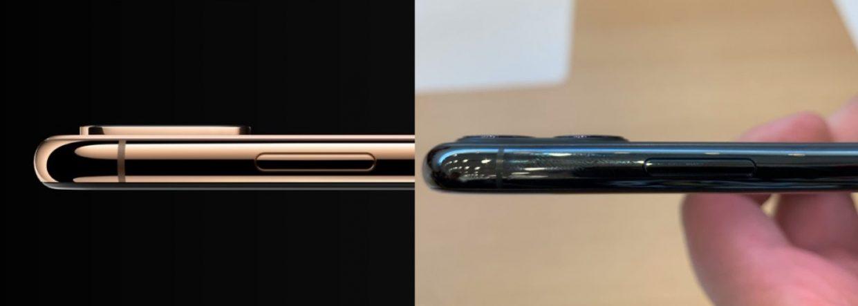 В iPhone 11 Pro камера выпирает меньше, чем в iPhone XS