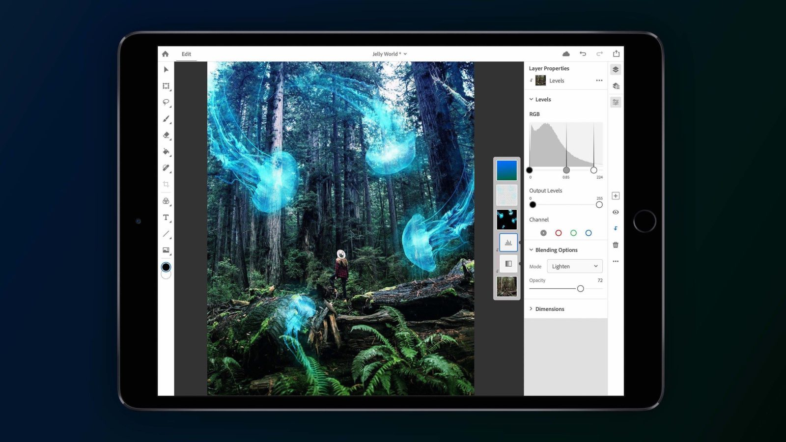 Полноценные Photoshop и Illustrator для iPad выйдут в 2020 году