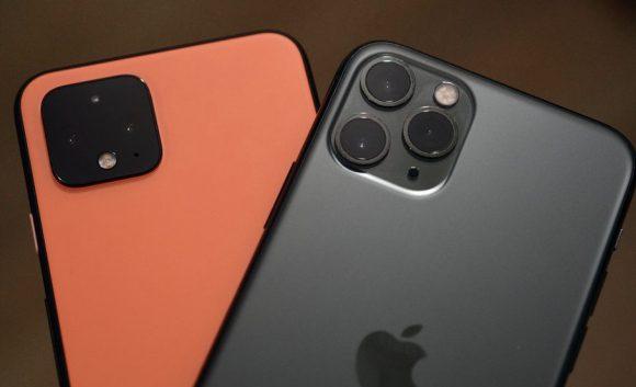 Первое сравнение камер Google Pixel 4 и iPhone 11 Pro