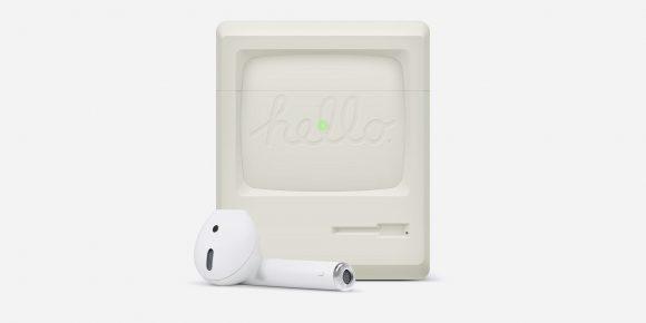 Найден лучший чехол AirPods в стиле культового Macintosh