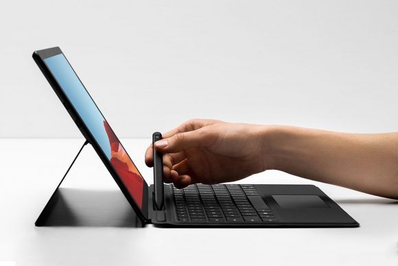 Microsoft выпустила ноутбук Surface Pro X на уникальном процессоре