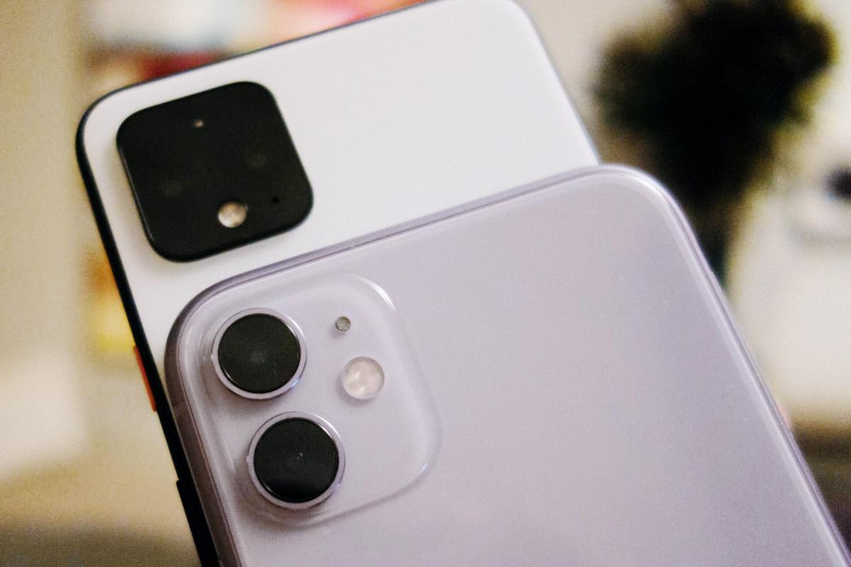 iPhone 11 порвал Pixel 4 в ночном режиме съёмки