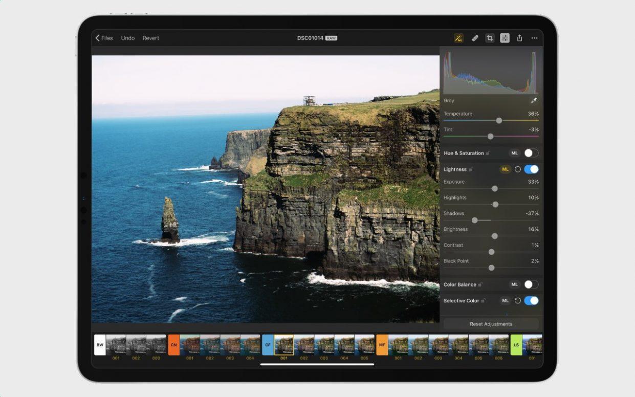 Фоторедактор Pixelmator Photo раздают бесплатно. Это лучшая альтернатива Lightroom