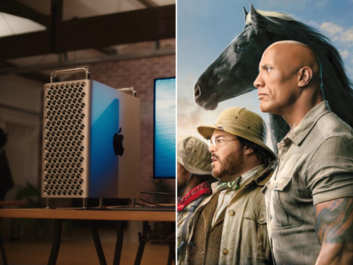 Создатели спецэффектов Джуманджи рассказали, как работали на Mac Pro и Pro Display XDR