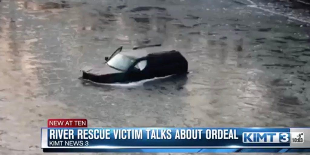 Siri спасла подростка из тонущего автомобиля