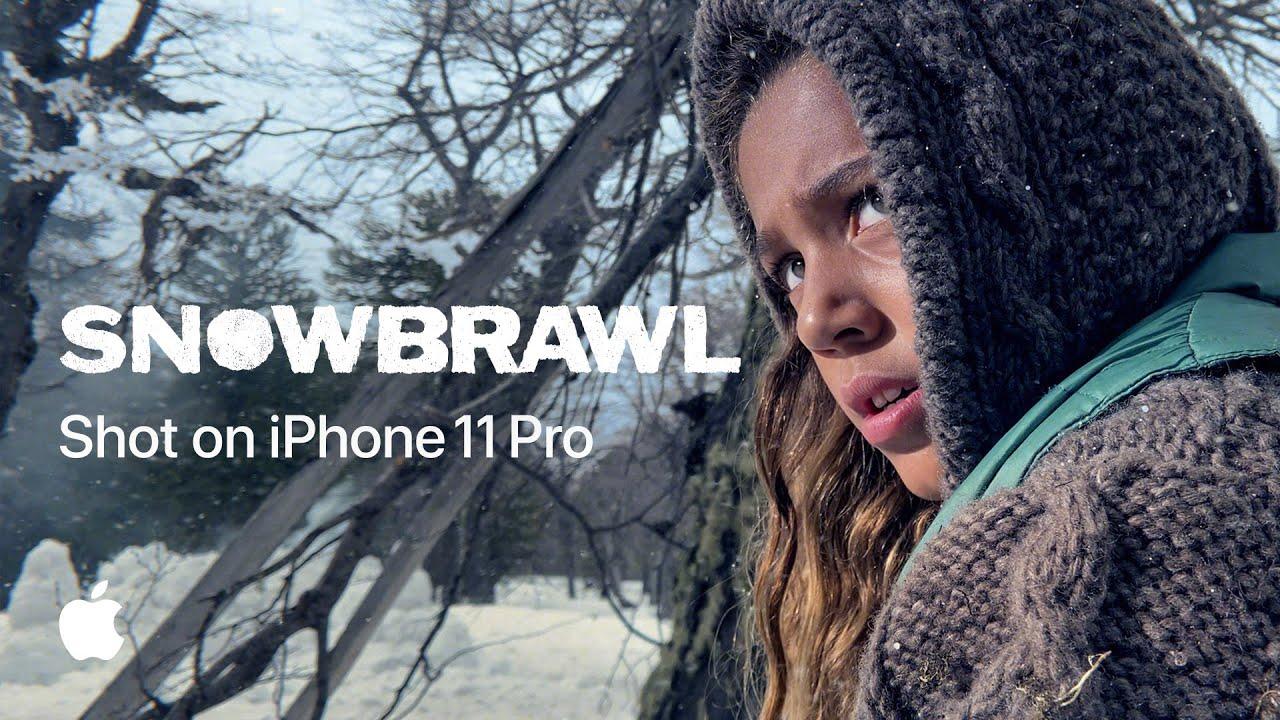 В новой рекламе Apple все играют в снежки. Снято на iPhone 11 Pro
