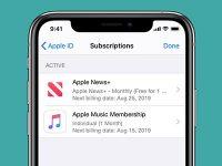 Как изменить тариф подписки, если в приложении из App Store нет такого раздела