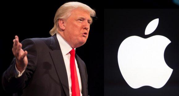 Трамп опять раскритиковал Apple, потому что она не разблокирует чужие айфоны