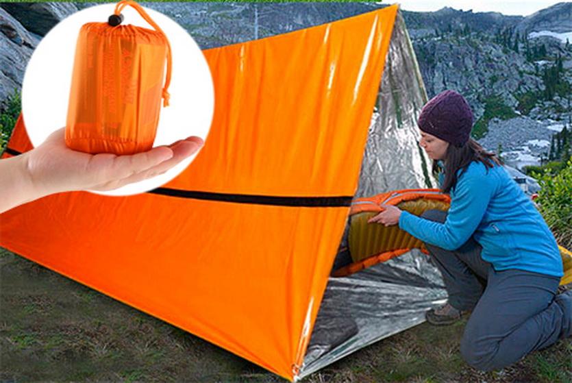 15 невероятных вещей с AliExpress. Карманная палатка