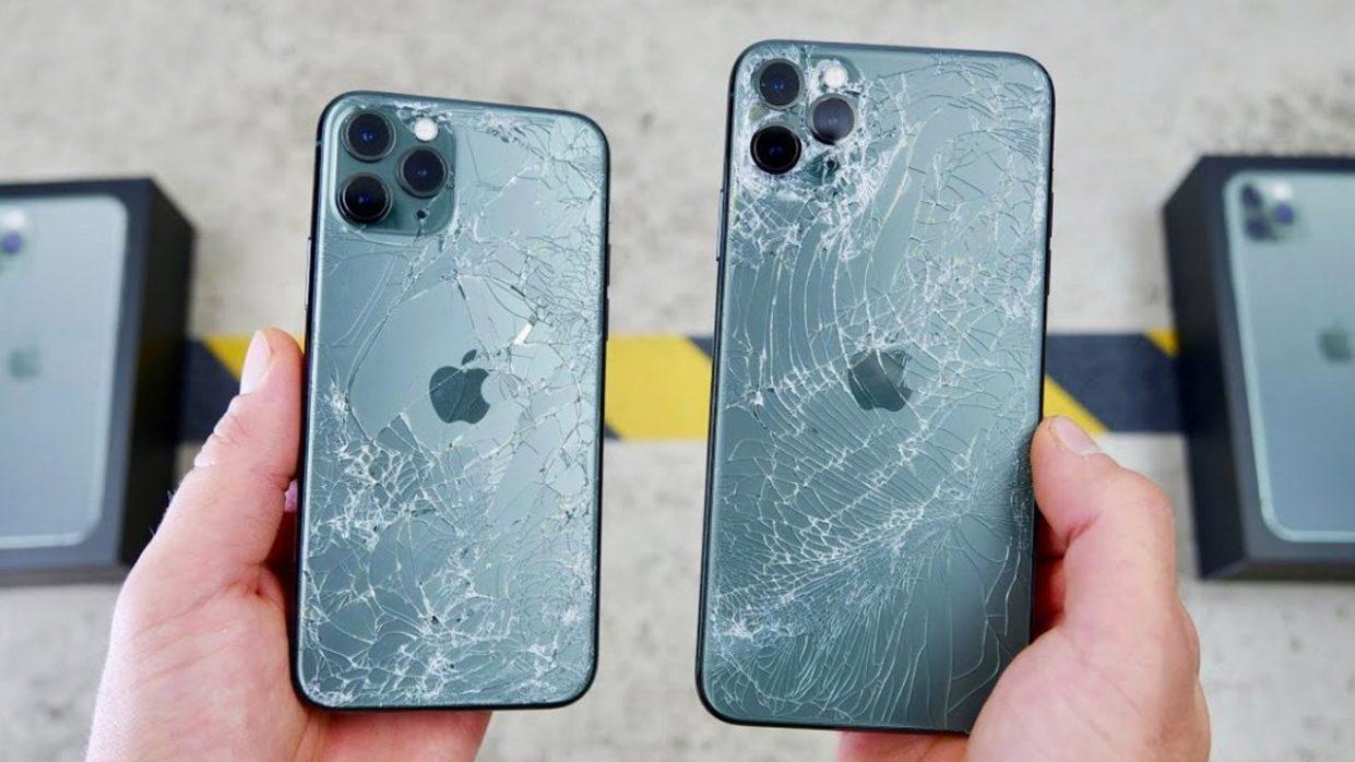 Нашёл чехол, разбивающий заднюю панель iPhone 11