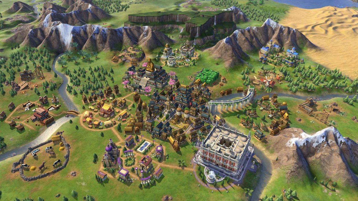 В Epic Games Store бесплатно раздают Civilization VI